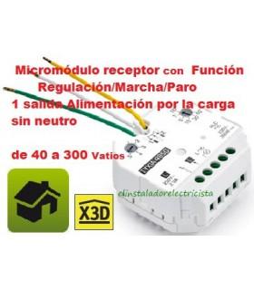 Receptor TYXIA 4850 Función Regulación/ Marcha Paro 1 salida 40/300w