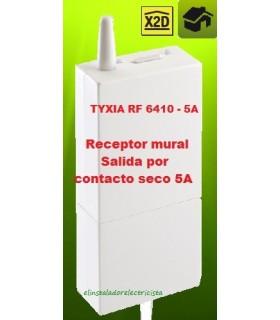 TYXIA 6410 Receptor mural  Salida por contacto seco 5A por impulsos