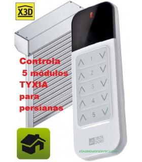 TYXIA 1600 Telemando portátil controla 5 receptores TYXIA