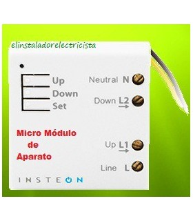Micro módulo de Aparato INSTIMICROA