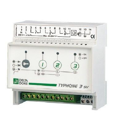 Telemando telefónico modular 3 vías TYPHONE 3 SV
