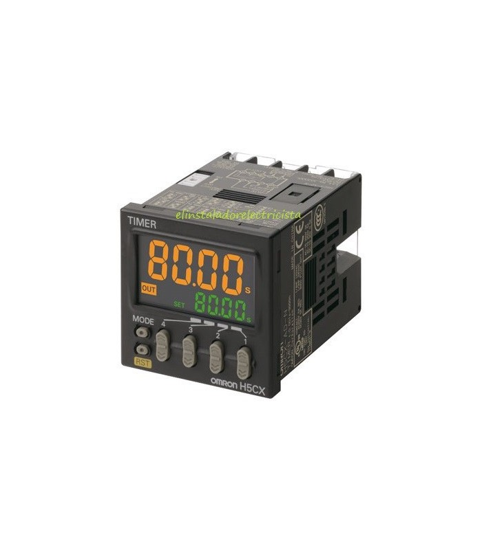 Temporizador Digital H5CX-A-N Omron 100-240Vac terminal tornillo