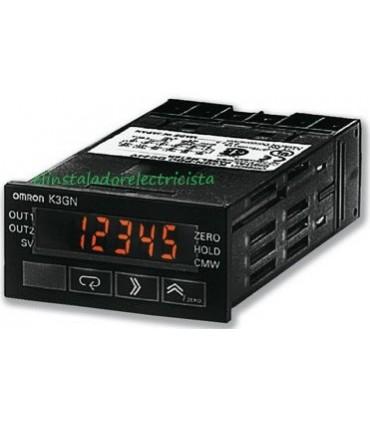 Medidor digital de panel K3GN-NDC 24VDC Omron