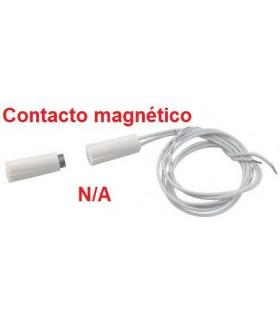 (5 unidades) Interruptor magnético fijación a panel por presión N/C Ø 9mm.