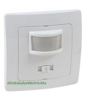 Detector de movimiento por infrarrojos empotrable.