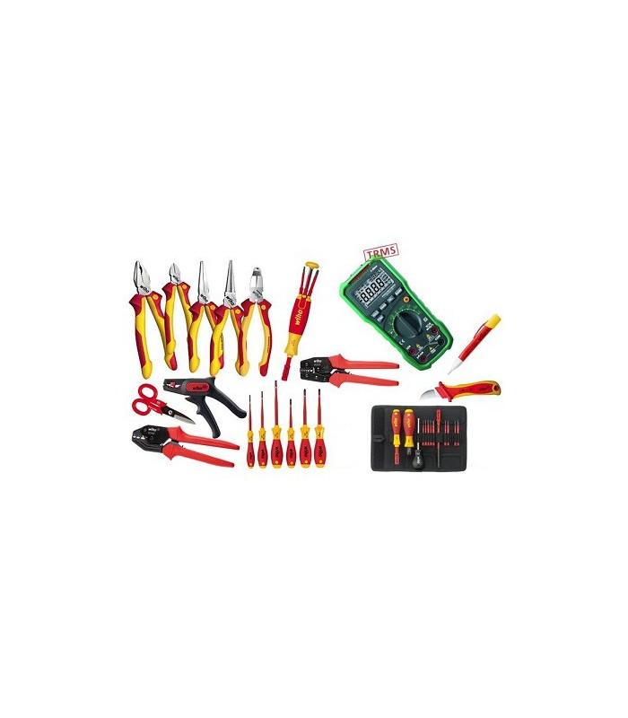 Kit herramientas dotación de aula electricidad