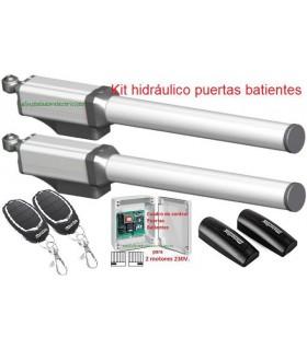 Kit brazos puertas batientes hidráulicos