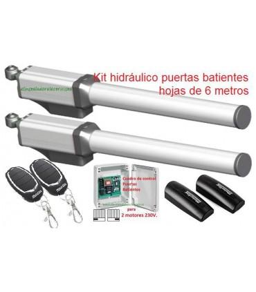 Kit Hidráulico ECO360 puertas batientes