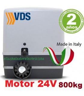Motor 24V 800Kg puerta corredera con Cuadro de Control