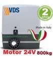 Motor 24V para puerta corredera 800 Kilos CARRERA