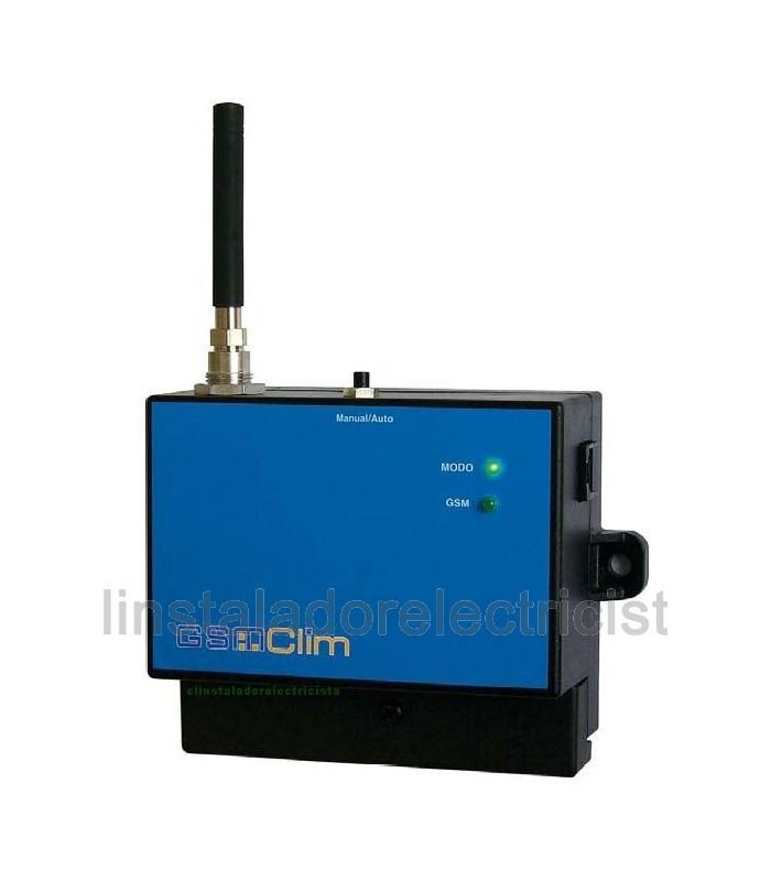 GSMClim es un controlador GSM específico para activación de calefacción
