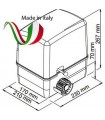 Motor para puerta corredera 350/600 Kilos SIMPLY 24V