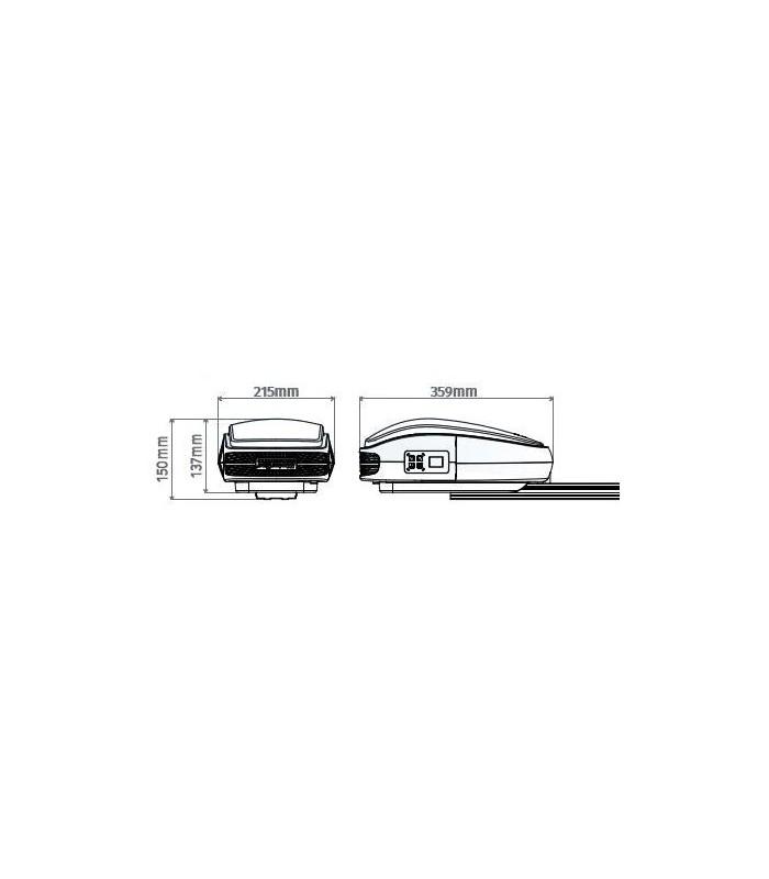 Motor puertas seccionales o basculantes hasta 120 kg y 18m²