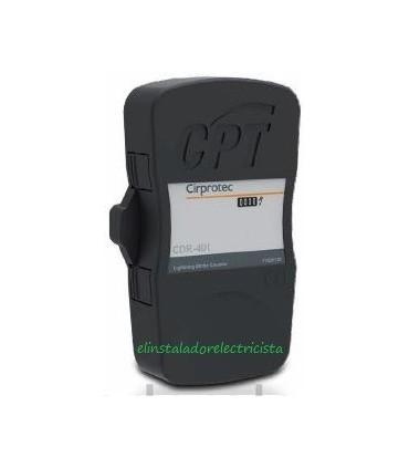 Contador de descargas de rayo para cable y pletina CDR-401