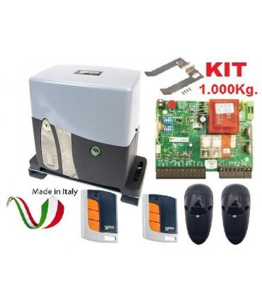 Kit 1000kg. AG Future puerta corredera 230V VDS