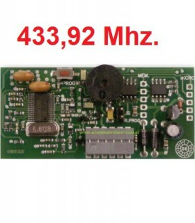 Receptor enchufable SRT Mini 433,92 Mhz