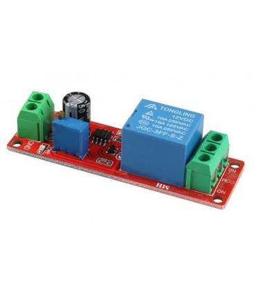 Módulo Temporizador 12VDC ajustable 0 ~ 10 Segundos