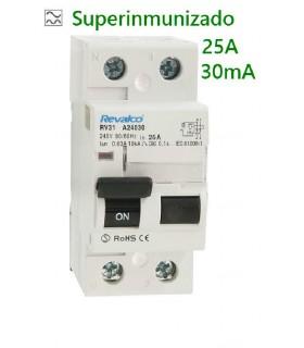 Superinmunizado 25A 30mA 2 Polos, 10kA