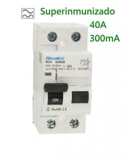 Superinmunizado 40A 300mA 2 Polos, 10kA