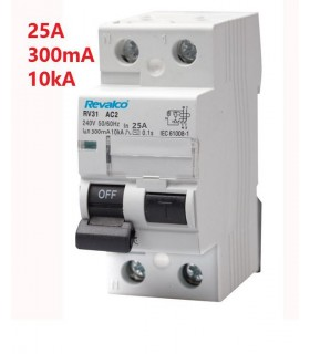 Diferencial 25A 300mA 2 polos tipo AC