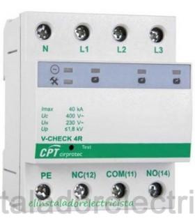 Protector combinado DPS+POP trifásico V-CHECK 4R