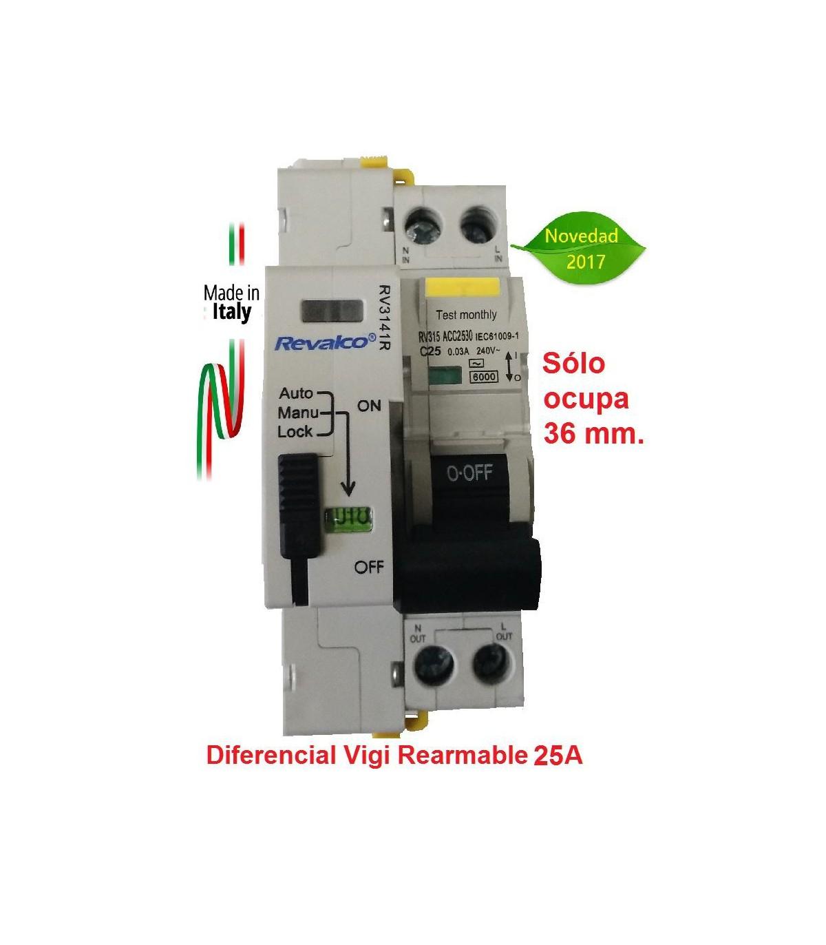 RV3141RA Reconectador autom/ático Revalco