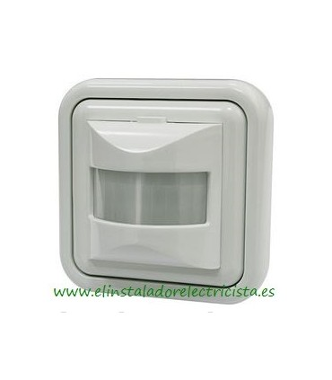 Interruptor Detector de movimiento por infrarrojos de pared empotrable