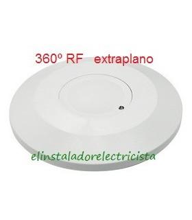 Detector de movimiento por microondas extraplano 360º