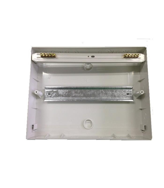 Cuadro de superficie 12 elementos equipado con elementos for Cuadro electrico componentes