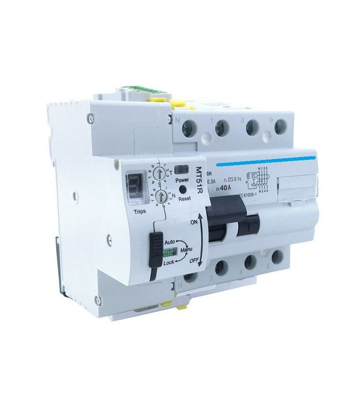 Diferencial 40A 30mA AC reconector LED