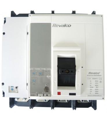MOLDEADA 4P 400A REGULABLE Electrónico