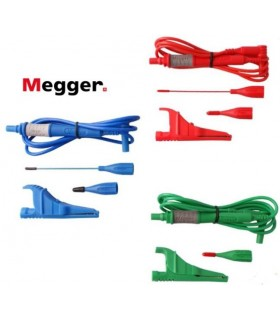 Cable Rojo/Verde/Azul largos Megger