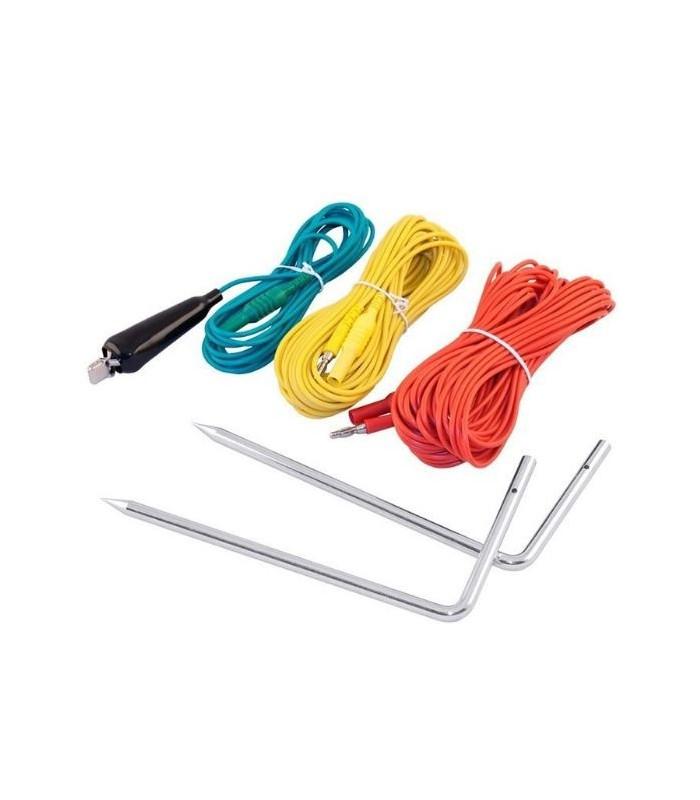 Cable Rojo/Verde/Azul con fusible F10A 50kA