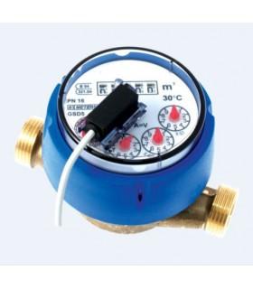 Contador de agua fría con emisor de pulsos