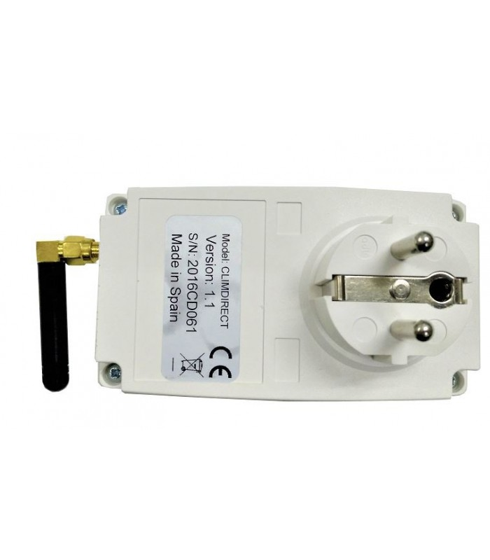 Controlador CLIMDIRECT GSM para calefacción