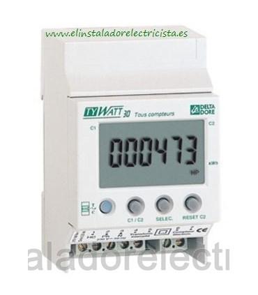 Contador de Consumo Eléctrico Monofásico TYWATT 30