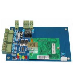 Placa de Control de accesos TCP/IP o WEB con software