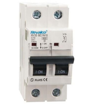 Automático 10A 1P + N Curva C  6kA