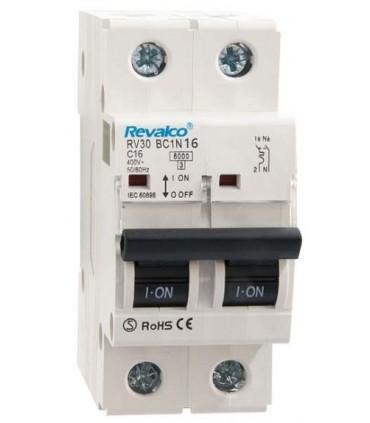 Automático 16A 1P + N Curva C  6kA