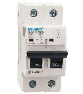 Automático 20A 1P + N Curva C  6kA