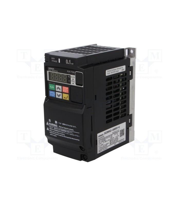 Variador 3G3MX2-AB002-E Monofásico 0.25/0.37KW Omron
