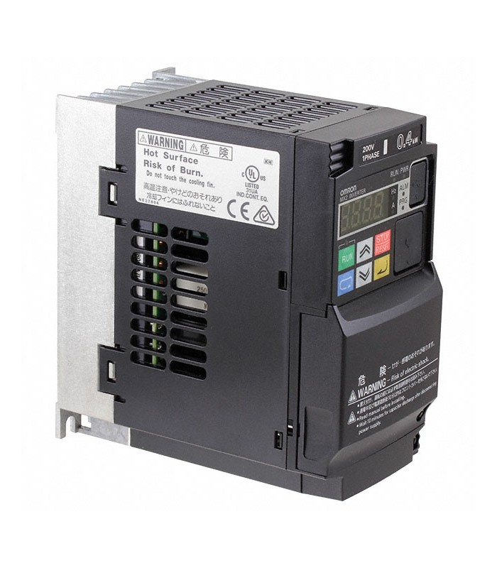 Variador 3G3MX2-AB004-E Monofásico 0.4/0.55KW Omron