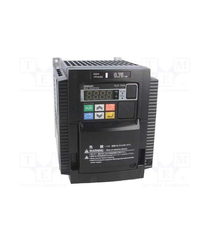 Variador 3G3MX2-AB007-E Monofásico 0,75/1.1KW Omron