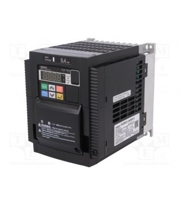 Variador 3G3MX2-A4004-E CHN Trifásico 0.4/0.75KW Omron