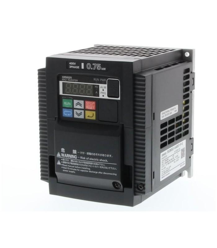 Variador 3G3MX2-A4007-E Trifásico 0.75/1.1KW Omron