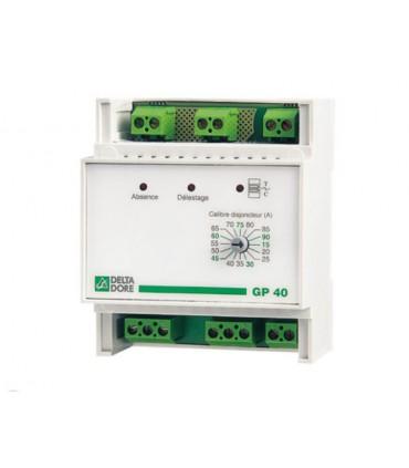 Racionalizador GP40 sobre 3 salidas Delta Dore