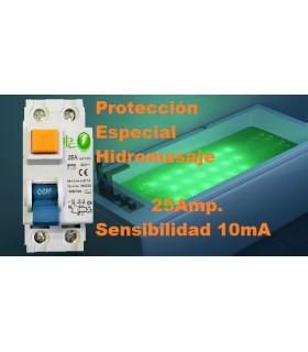 Especial Diferencial 25A Sensibilidad 10mA Tipo AC