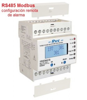 Analizador Trifásico de red RS485 Modbus