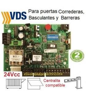 Placa de control para Motores puertas de 24Vcc Euro24M1