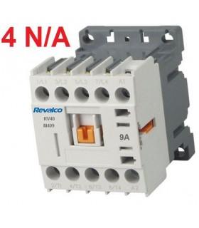 Minicontactor 4P 9A, 4N/A, 230V